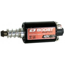 ASG Ultimate CNC Upgrade Long Motor Boost 40K Custom - BLACK