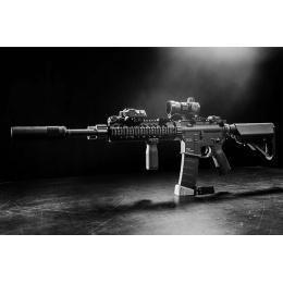 KWA RM4 SR10 AEG Airsoft Rifle w/ 2GX 9mm Gearbox  - BLACK
