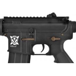 APS Kompetitor C33 Style M4 CQB EBB Airsoft AEG Rifle - BLACK