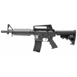 APS Kompetitor EBB AEG Airsoft M4A1 CQB Rifle - BLACK