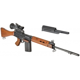 ARES L1A1 SLR Metal AEG Airsoft FAL Battle Rifle - REAL WOOD