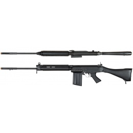 ARES L1A1 SLR Metal AEG Airsoft FAL Battle Rifle - BLACK