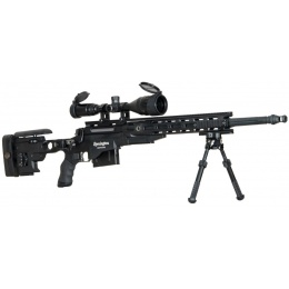 ARES Remington MSR700 Bolt Action Airsoft Sniper Rifle - BLACK