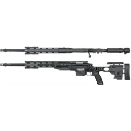 ARES Remington MSR700 Bolt Action Airsoft Sniper Rifle - BLACK