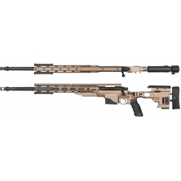 ARES Remington MSR700 Bolt Action Airsoft Sniper Rifle - DARK EARTH