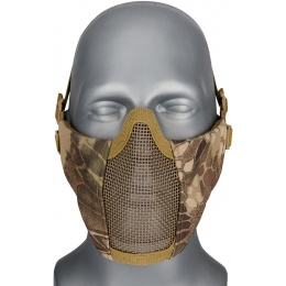 WoSport Low Carbon Steel Mesh Nylon Lower Face Mask - HLD