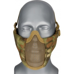 WoSport Low Carbon Steel Mesh Nylon Lower Face Mask - MAD