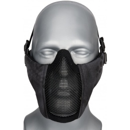 WoSport Low Carbon Steel Mesh Nylon Lower Face Mask - TYP