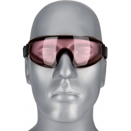 UK Arms Airsoft Low Profile Regulator Goggles - PINK