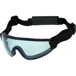 UK Arms Airsoft Low Profile Regulator Goggles - BLUE