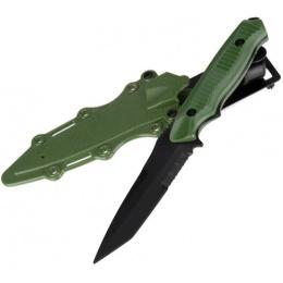 AMA Tactical Plastic Dummy 141 Knife w/ Holster - OLIVE DRAB