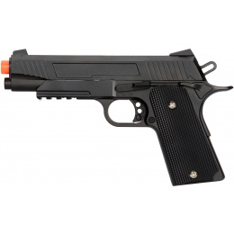 UK Arms Spring Metal 1911 Airsoft Training Pistol - BLACK