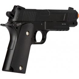 UK Arms Spring Metal 1911 Airsoft Training Pistol - BLACK