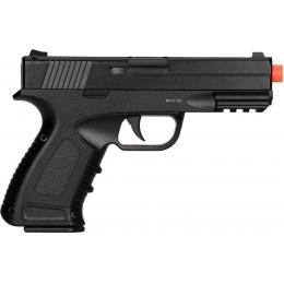 UK Arms Spring Compact Metal Airsoft Training Pistol - BLACK