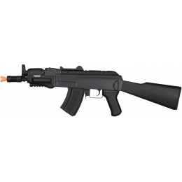Lancer Tactical Metal AK47 Assault AEG Airsoft Rifle - BLACK
