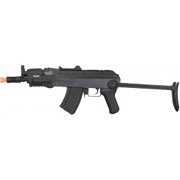 Lancer Tactical Metal AK47 Assault AEG Airsoft Rifle - SILVER