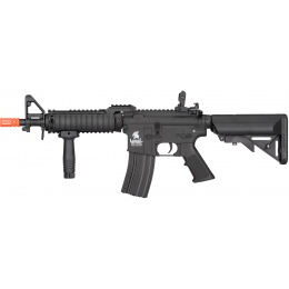 Lancer Tactical MK18 Nylon Polymer MOD 0 AEG Airsoft Rifle - BLACK