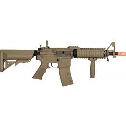 Lancer Tactical MK18 Nylon Polymer MOD 0 AEG Airsoft Rifle - TAN