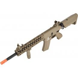 Lancer Tactical M4 Low FPS Gen 2 EVO AEG Airsoft Rifle - TAN