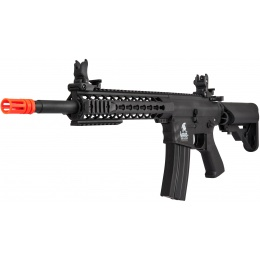 Lancer Tactical M4 KeyMod Gen 2 EVO AEG Airsoft Rifle - BLACK