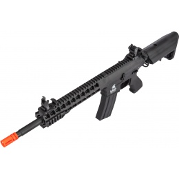 Lancer Tactical M4 Low FPS KeyMod Gen 2 EVO AEG Airsoft Rifle - BLACK