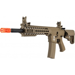 Lancer Tactical M4 KeyMod Gen 2 EVO AEG Airsoft Rifle - TAN