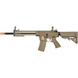 Lancer Tactical M4 Low FPS KeyMod Gen 2 EVO AEG Airsoft Rifle - TAN