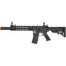 Lancer Tactical Gen 2 SD Nylon Polymer AEG Airsoft Rifle - BLACK