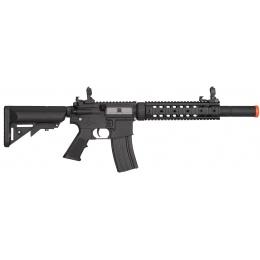 Lancer Tactical Gen 2 SD Nylon Polymer AEG Airsoft Rifle - BLACK