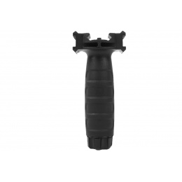 G&G Vertical Tactical Fore Grip w/ Integrated Side Rails - BLACK