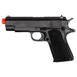 CYMA Metal Spring Powered Airsoft 1911 Pistol - BLACK