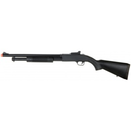 UK Arms Airsoft Spring Shotgun w/ Fixed Stock - BLACK