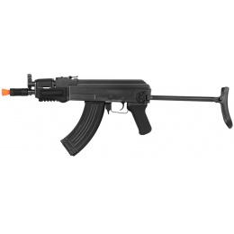 DE AK47 Krinkov CQB AEG Airsoft SMG w/ Folding Rear Stock - BLACK