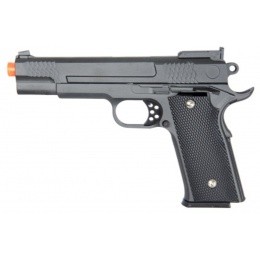 UK Arms Airsoft G20B Full Metal Spring Pistol - BLACK