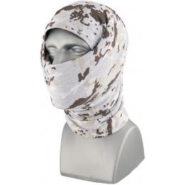 ZAN Headgear Fleece Lined Motley Tube - WINTER CAMO