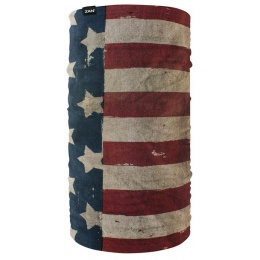 ZAN Headgear Fleece Lined Motley Tube - PATRIOT