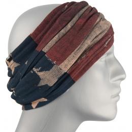 ZAN Headgear Fleece Lined Motley Tube - PATRIOT