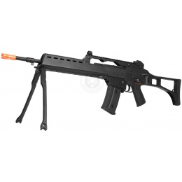 JG Polymer R36K Airsoft AEG Rifle w/ Integrated Bipod - BLACK