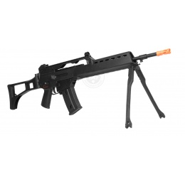 JG Polymer R36K Airsoft AEG Rifle w/ Integrated Bipod - BLACK