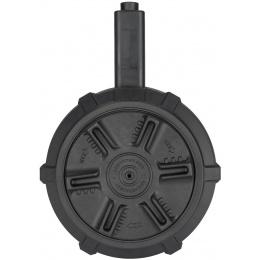 G&G 1500rd ARP9 AEG Polymer Airsoft Drum Magazine - BLACK