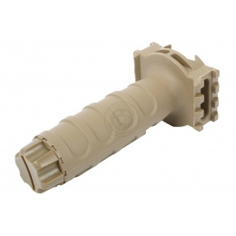 G&G Vertical Tactical Fore Grip w/ Integrated Side Rails - DESERT TAN