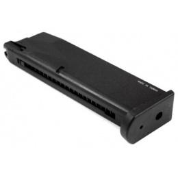 KWA Airsoft M9 PTP Metal Gas Pistol Magazine 25rd Capacity