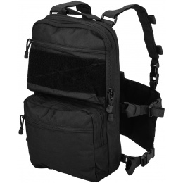 Lancer Tactical 1000D Nylon QD Chest Rig and Backpack Combo - BLACK
