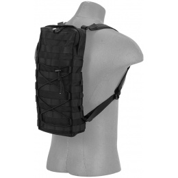 Lancer Tactical MOLLE Hydration Backpack (Nylon) - BLACK