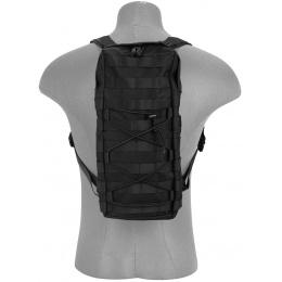 Lancer Tactical MOLLE Hydration Backpack (Nylon) - BLACK