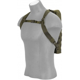 Lancer Tactical MOLLE Hydration Carrier for 2L Bladders (Nylon) - OD