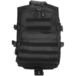 Lancer Tactical 600D Nylon Tactical Gear Laptop Backpack - BLACK