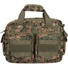 Lancer Tactical 1000D Polyester Small Range MOLLE Bag - JUNGLE DIGITAL