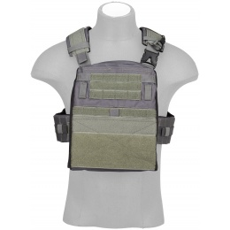 Crye Precision Licensed AVS Adaptive Vest System Plate Carrier - URBAN GRAY