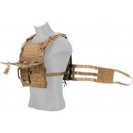 Crye Precision Licensed JPC 2.0 Plate Carrier - COYOTE BROWN